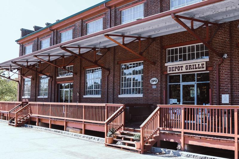 Depot Outside image